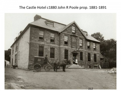 The Castle Hotel c1881
