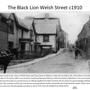 The Black Lion c1910