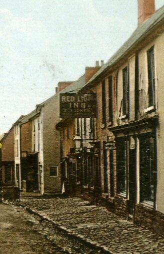 Red Lion Inn c1911 Pub sign reads Red Lion Inn E J Jones