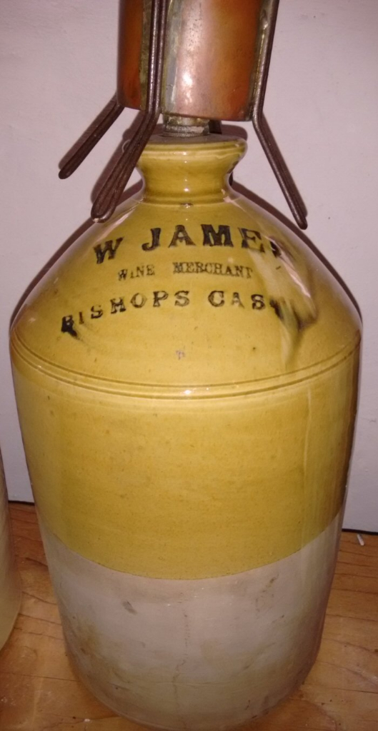 Walter James Wine Jar c1901