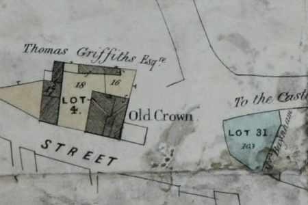 BC map 1848 old crown