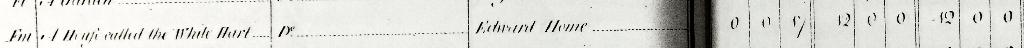 White Hart/Green Man Inn 1796 text